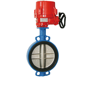 Electric Actuated Centric Butterfly Valves VF-775