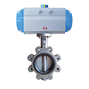 Pneumatic Control Centric Butterfly Valves